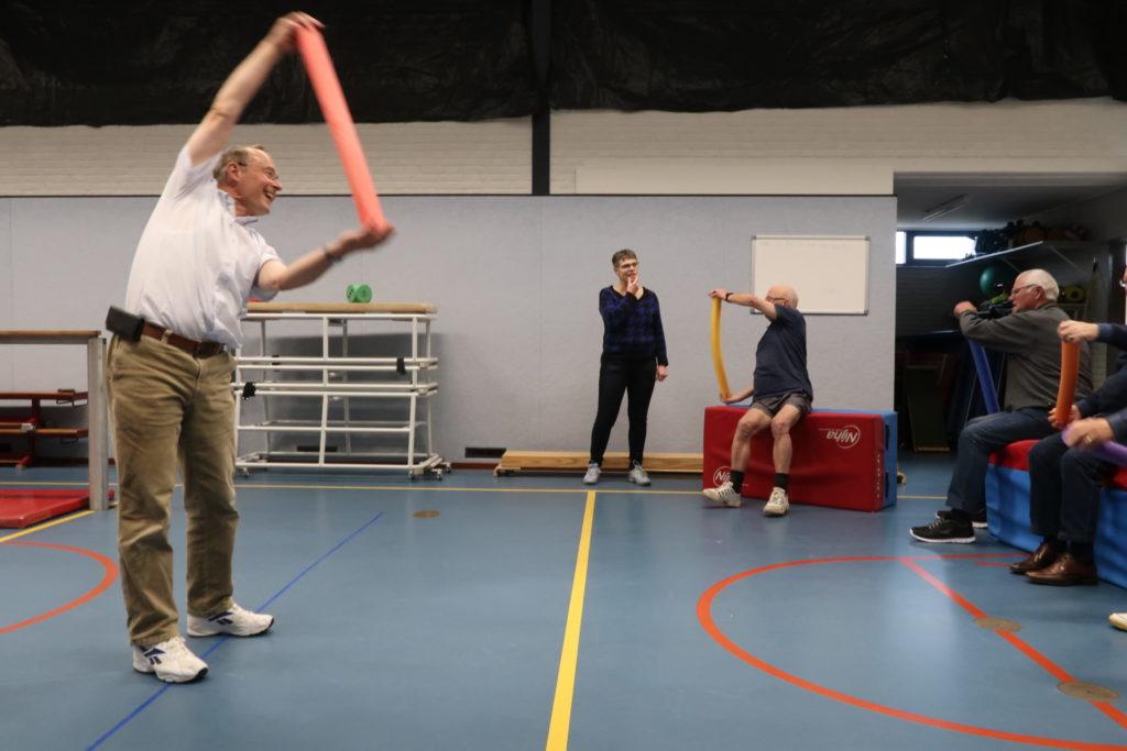 Door overdreven te bewegen worden Parkinsonpatienten een ander mens